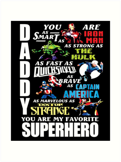 870a21e4 DADDY YOU ARE MY FAVORITE SUPER HERO T SHIRT