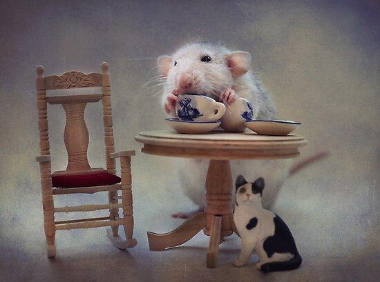 Tea-time (2) by Ellen van Deelen
