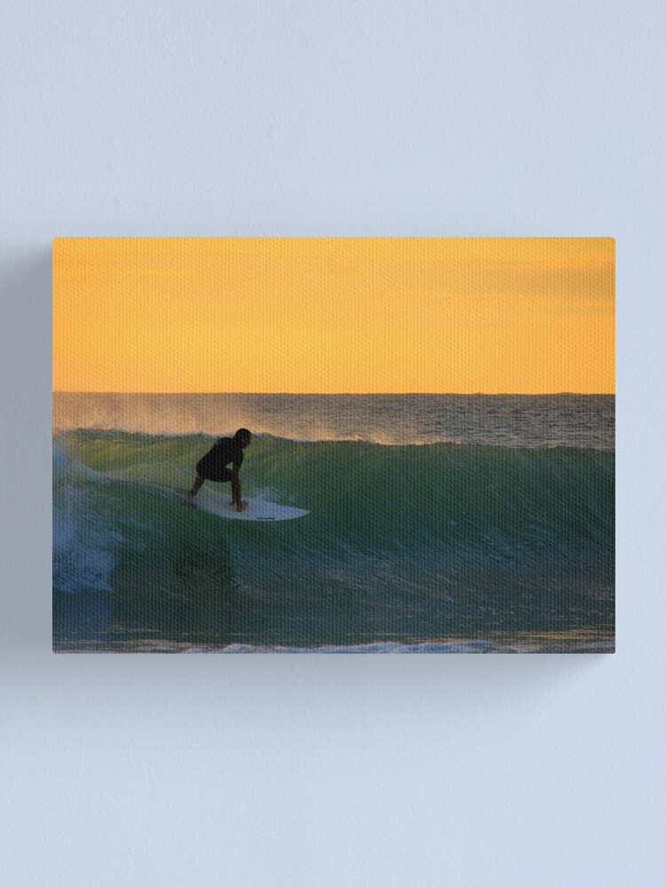 Alternate view of Down The Line Canvas Print