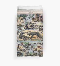 Adolphe Millot Reptile Duvet Cover