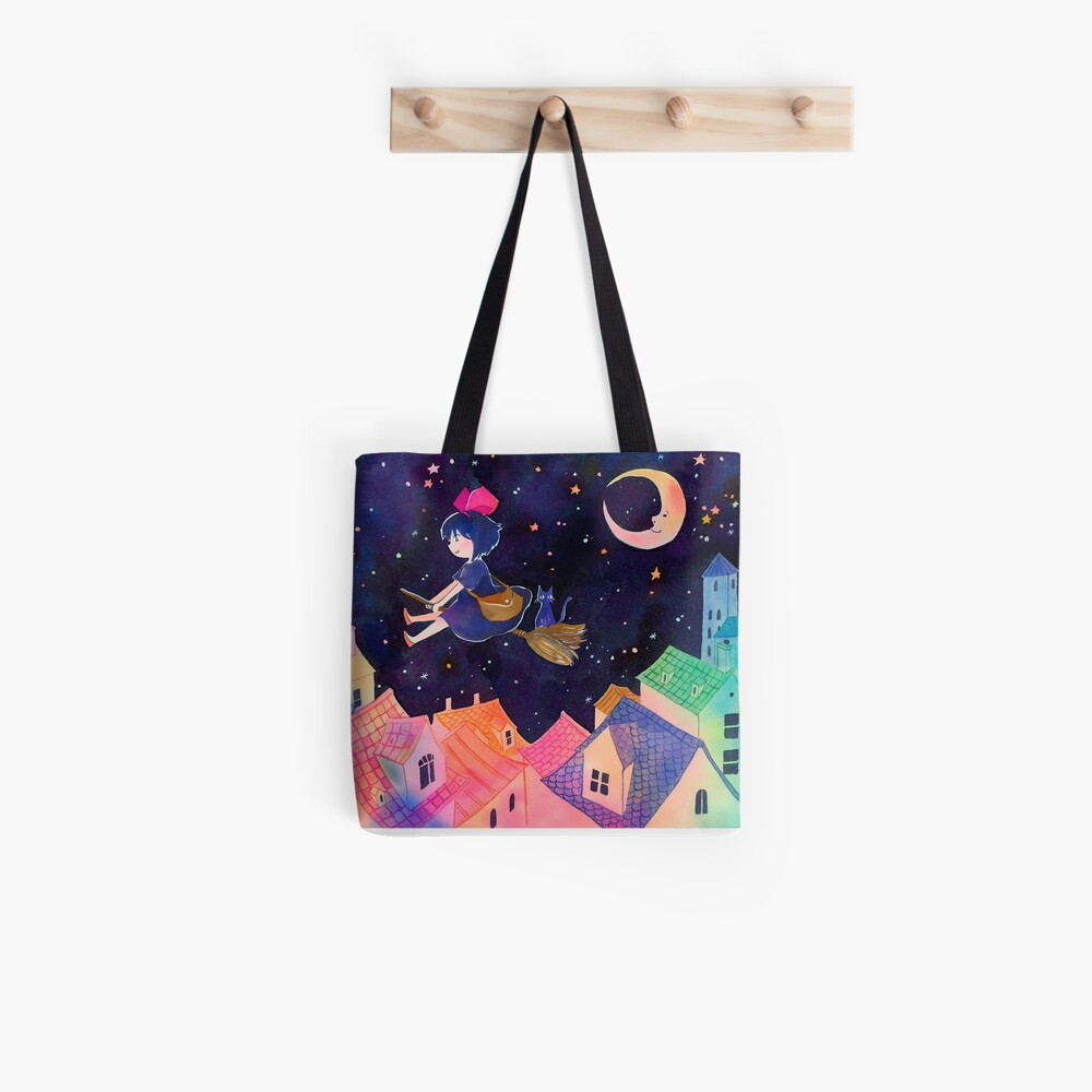 Little Witch Sleepy Time Tote Bag