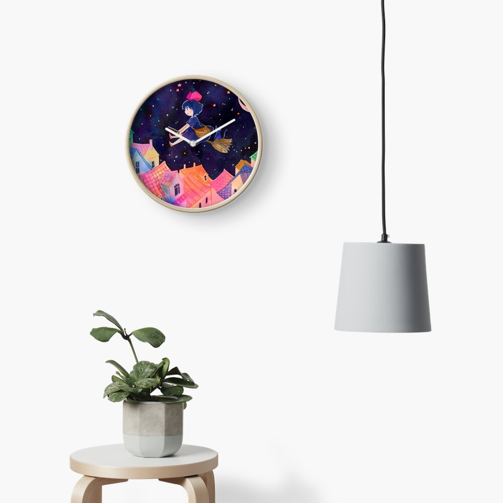 Little Witch Sleepy Time Clock