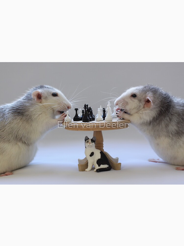 The real Chess Players :) by Ellen