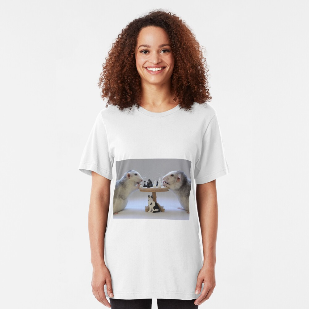 The real Chess Players :) Slim Fit T-Shirt