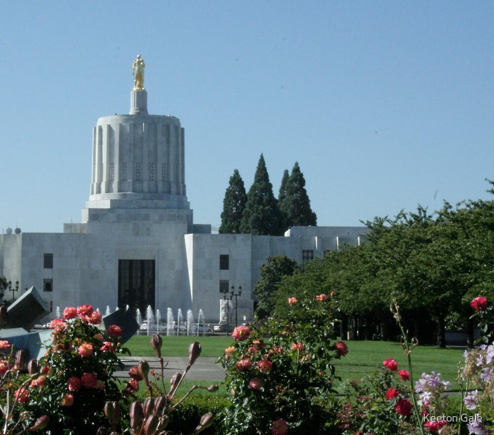Oregon capital by Keeton Gale