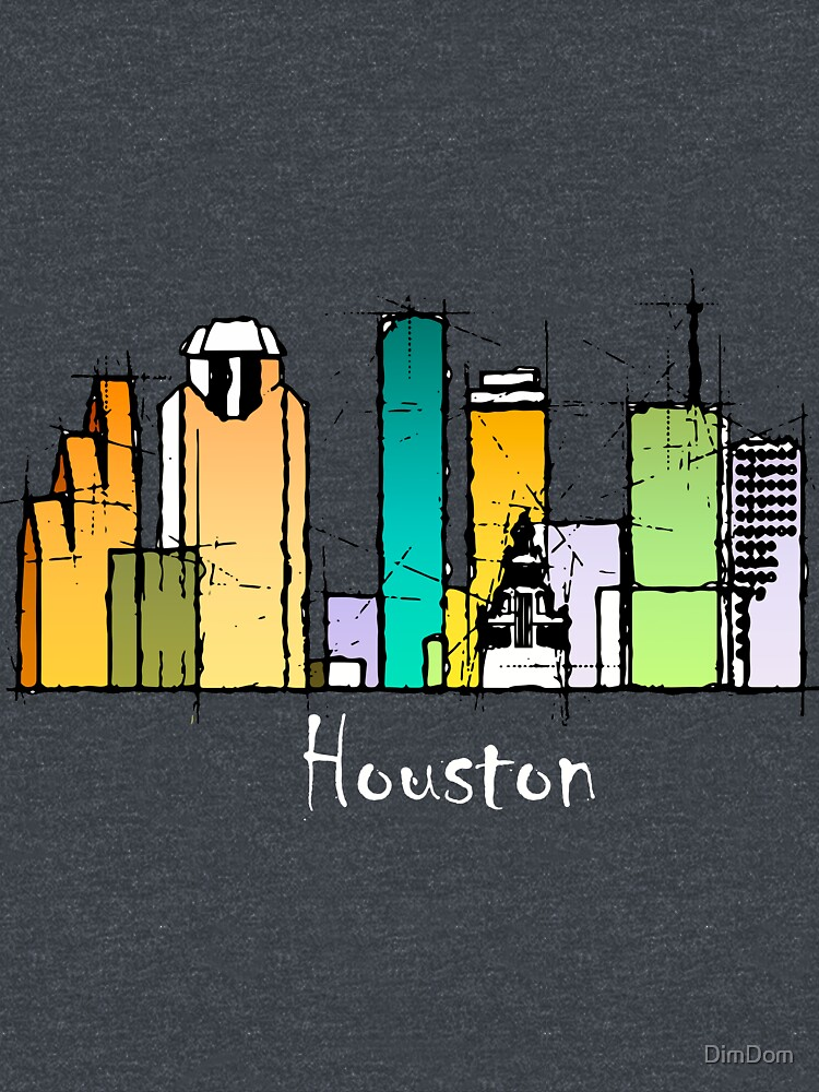 Houston city by DimDom
