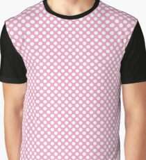 Prism Pink Polka Dots Graphic T-Shirt