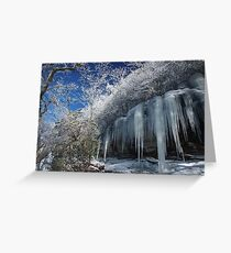 Ice Greeting Card