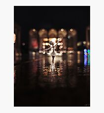 ballerina - lincoln center Photographic Print