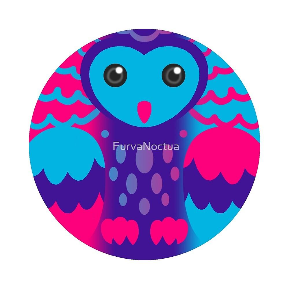 Androgyne Pride Owl by FurvaNoctua