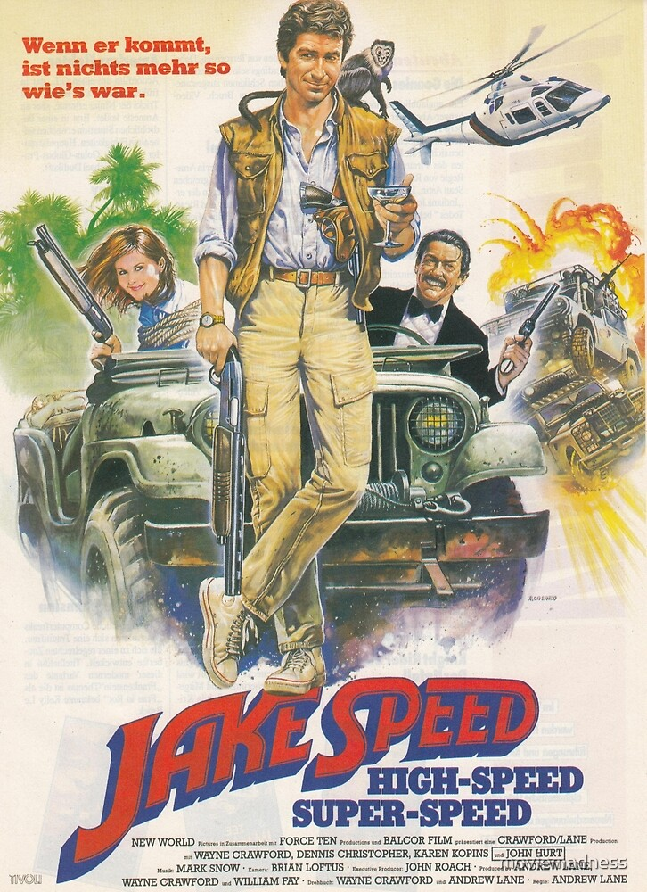 Jake Speed by moviemadness