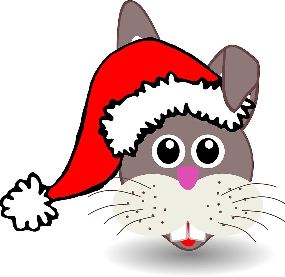 Christmas Rabbit by Lingua94