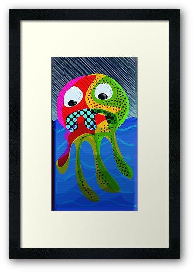 Squid No. 17 - Heavy Rains by Jon Jackson