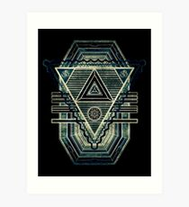Tesla Portal - Dark stargate Art Print