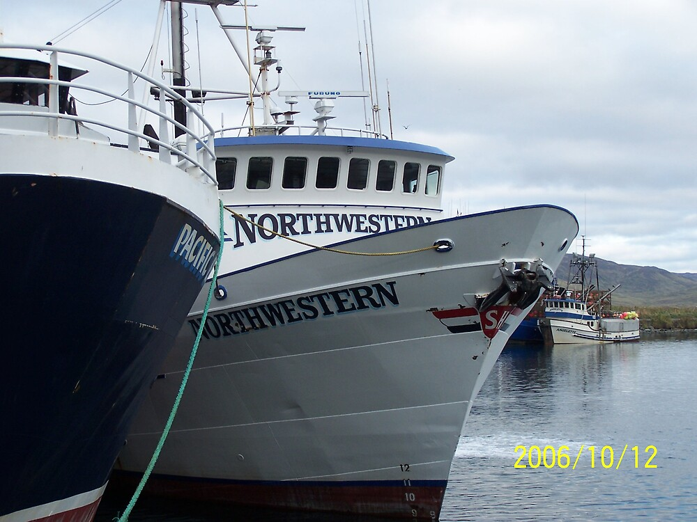 The Northwestern Fishing Vessel by Kevin  Warrick