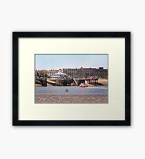 Fleetwood - England Framed Print