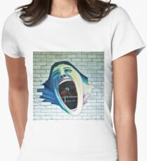 Pink Floyd, The Wall   Womens Fitted T-Shirt