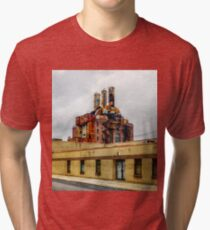 Panorama 2282: Willow Street Steam Plant Tri-blend T-Shirt