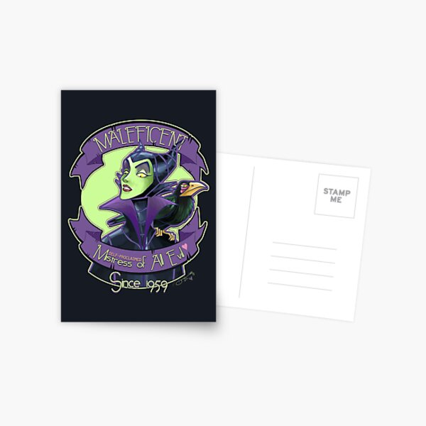 Maleficent Postcard
