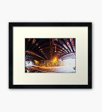 Panorama 2199: 13th Street under Noble Street Framed Print