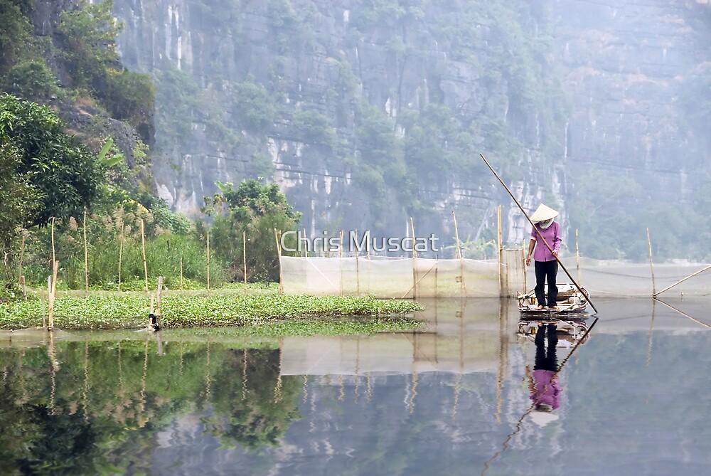Yen Vi River Vietnam by Chris Muscat