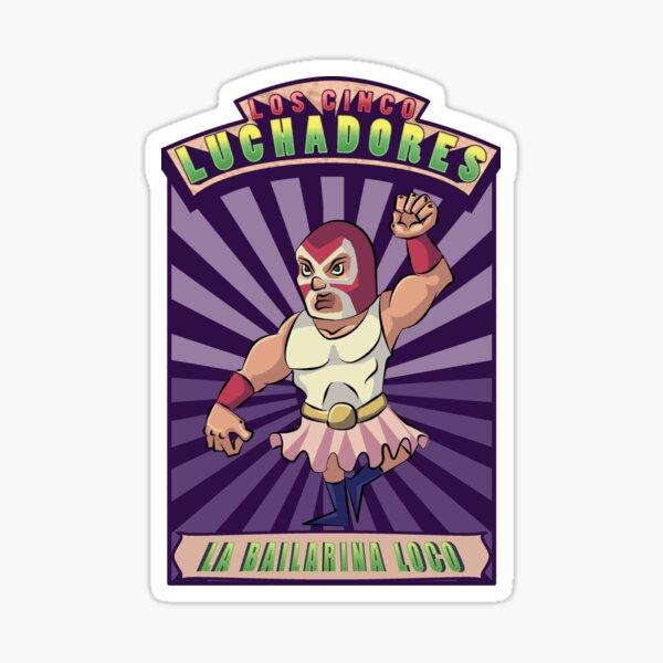 LA BALLERINA LOCO Sticker