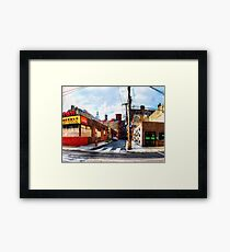 Panorama 2063: 12th and Hamilton Streets Framed Print