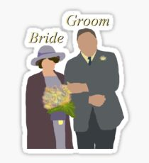 DA: Chelsie wedding BG Sticker