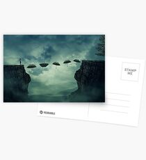 umbrella pathway Postcards