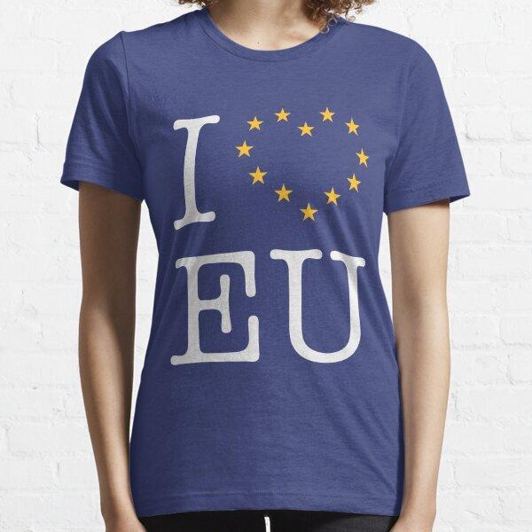 I Love EU (Europe) Essential T-Shirt