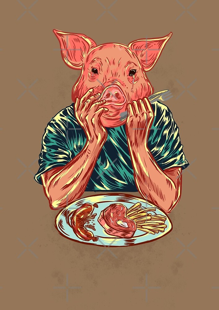 You are  what you eat by Nicolae Negura