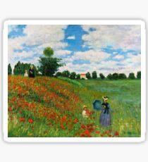 Landscape by Monet Sticker
