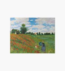 Landscape by Monet Art Board Print