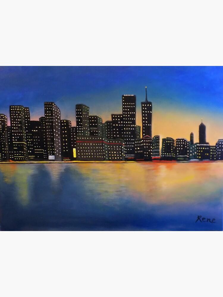 City Lights by irenebernhardt
