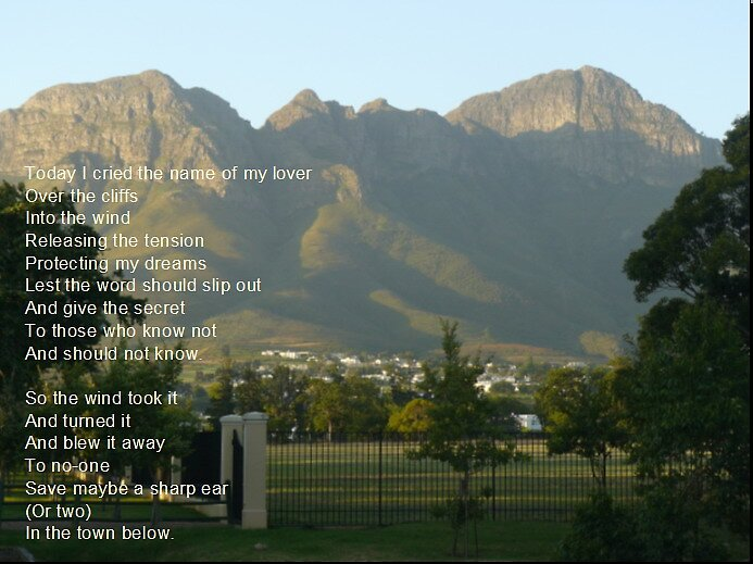Photo Poem - Over the cliffs by EmmaNation