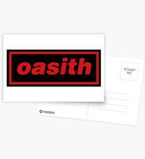 Oasith! Oasith! Oasith! Postcards