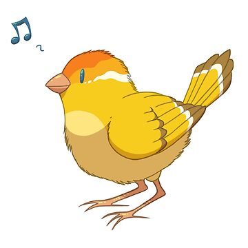 Cute Bird Design  by leviadraconia