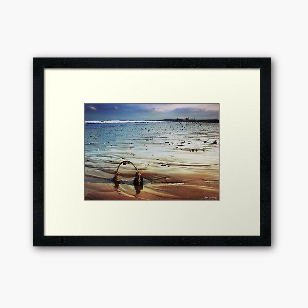 Seaton Sands Framed Art Print