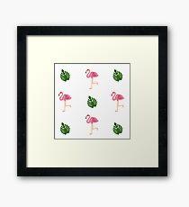 Flamingo - Summer Trend 2017 Framed Print