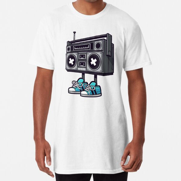 Boom Box! Long T-Shirt
