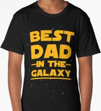 Father's Day - Best Dad in the Galaxy Long T-Shirt