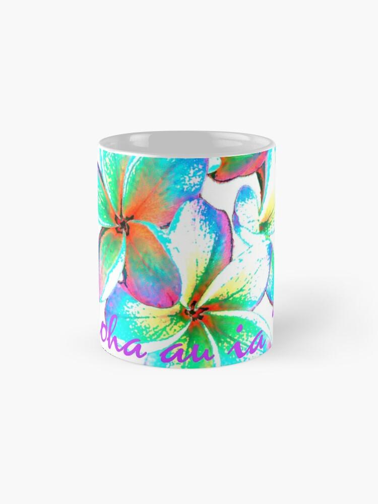 I love you in Hawaiian, Hawaiian Flower   Mug