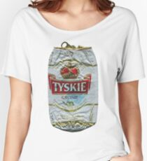 Tyskie - Crushed Tin Women's Relaxed Fit T-Shirt