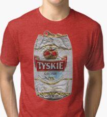 Tyskie - Crushed Tin Tri-blend T-Shirt