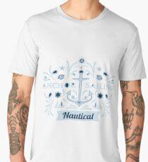 anchor sailing nautical Men's Premium T-Shirt