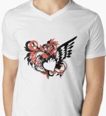 heart&wing Men's V-Neck T-Shirt