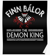 Finn the Demon King (White) Poster