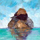 Bird On Water  by Juhan Rodrik