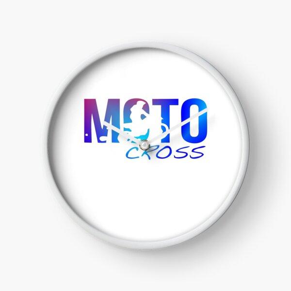 Motocross Sky Rider Clock