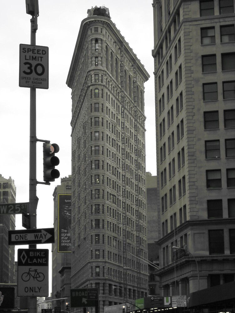 The Flatiron Building by helenahlg